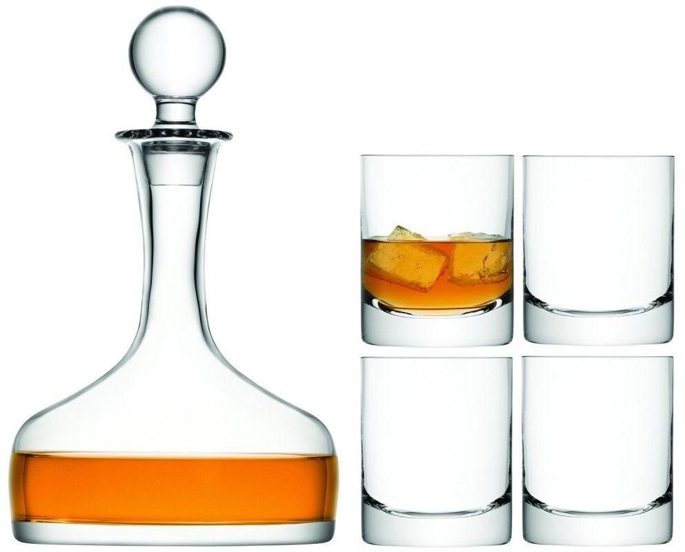 L.S.A. Bar Whiskeyset Set van 5 Stuks