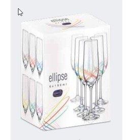 Crystalex Elipse champagneglazen 190ml
