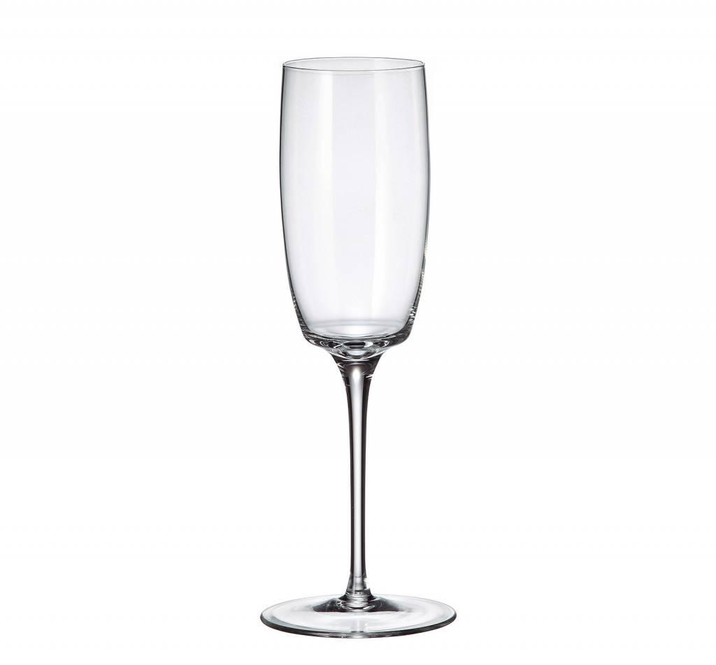Crystalite Jupiter champagneglazen 230ml -