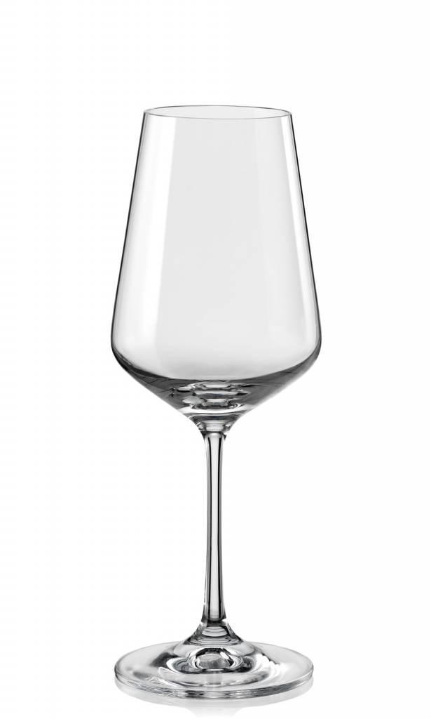 Crystalex Sandra wijnglazen 350ml
