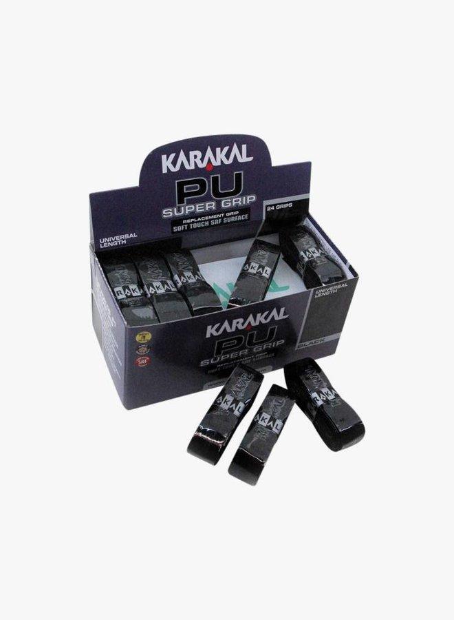 Karakal PU Super Grip Schwarz - 24er Box