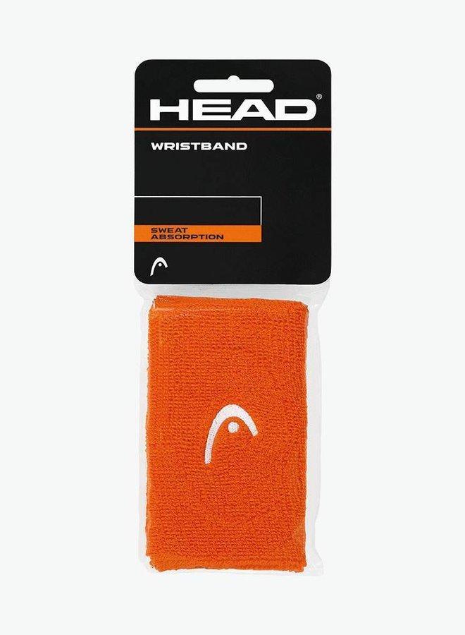 """Head Schweißband 5"""" - 2er Pack - Orange"""