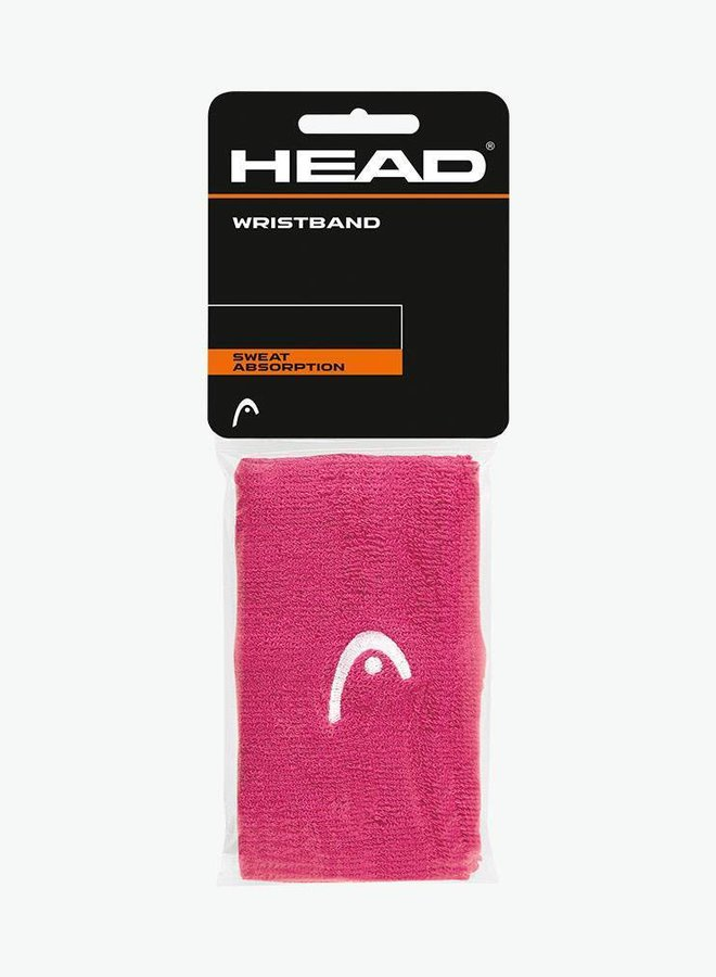 "Head Schweißband 5"" - 2er Pack - Pink"