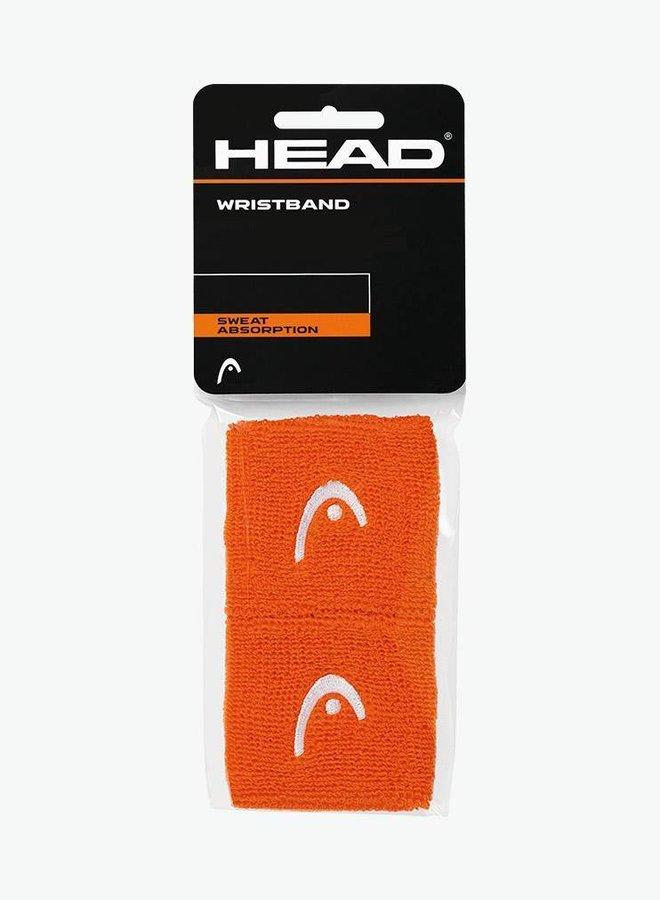 """Head Schweißband 2,5"""" - 2er Pack - Orange"""