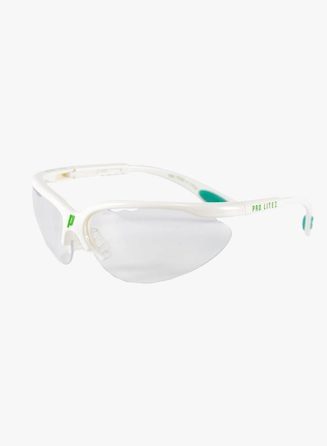 Prince Pro Lite II Squashbrille - Weiß
