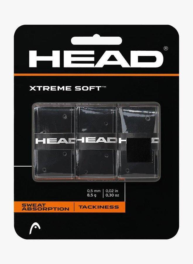 Head Xtremesoft Overgrip - 3er Pack - Schwarz
