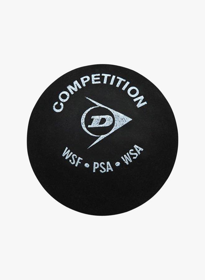 Dunlop Competition Squashball (gelber Punkt) - 3er Tube