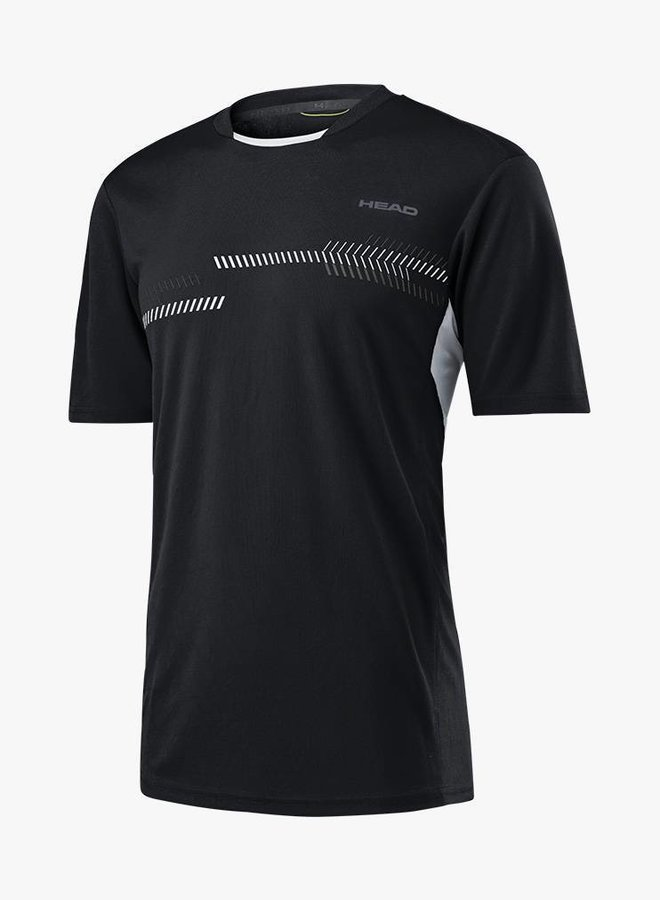Head Club Technical T-Shirt - Schwarz
