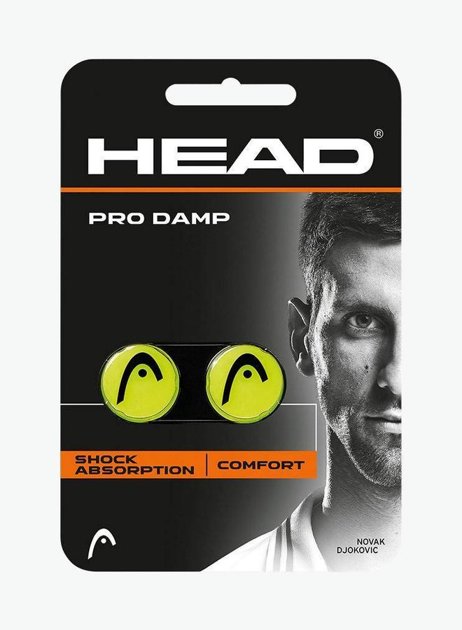 Head Pro Dämpfer - 2er Pack - Gelb / Schwarz