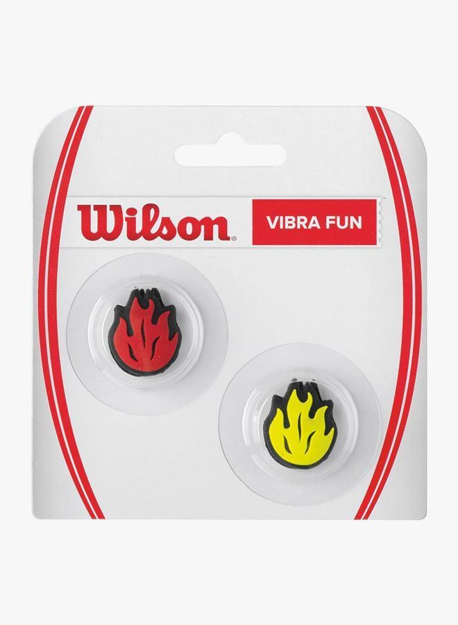 Wilson Vibra Fun Neon Flames Dämpfer - 2er Pack