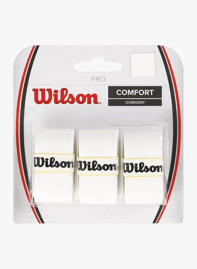 Wilson Pro Comfort Overgrip - 3er Pack - Weiß