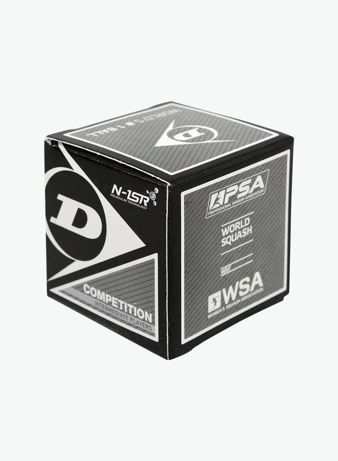 Dunlop Competition Squashball (gelber Punkt) - 12er Box
