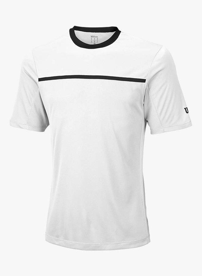Wilson Team Crew T-Shirt Herren - Weiß