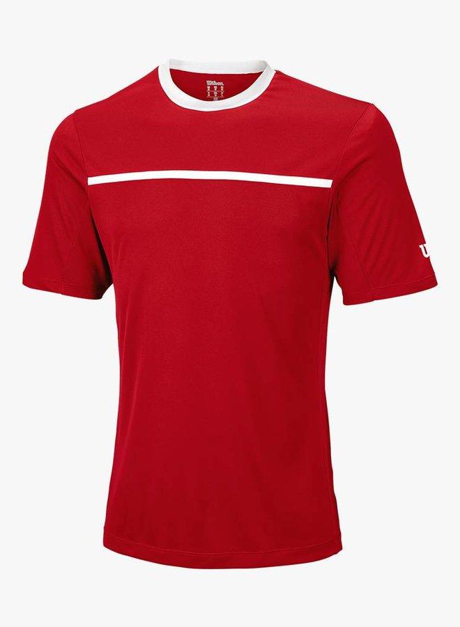 Wilson Team Crew T-Shirt Herren - Rot