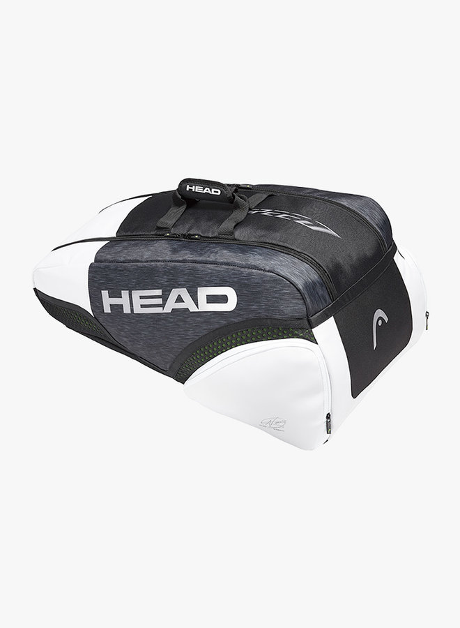 Head Djokovic 9R Supercombi Schlägertasche