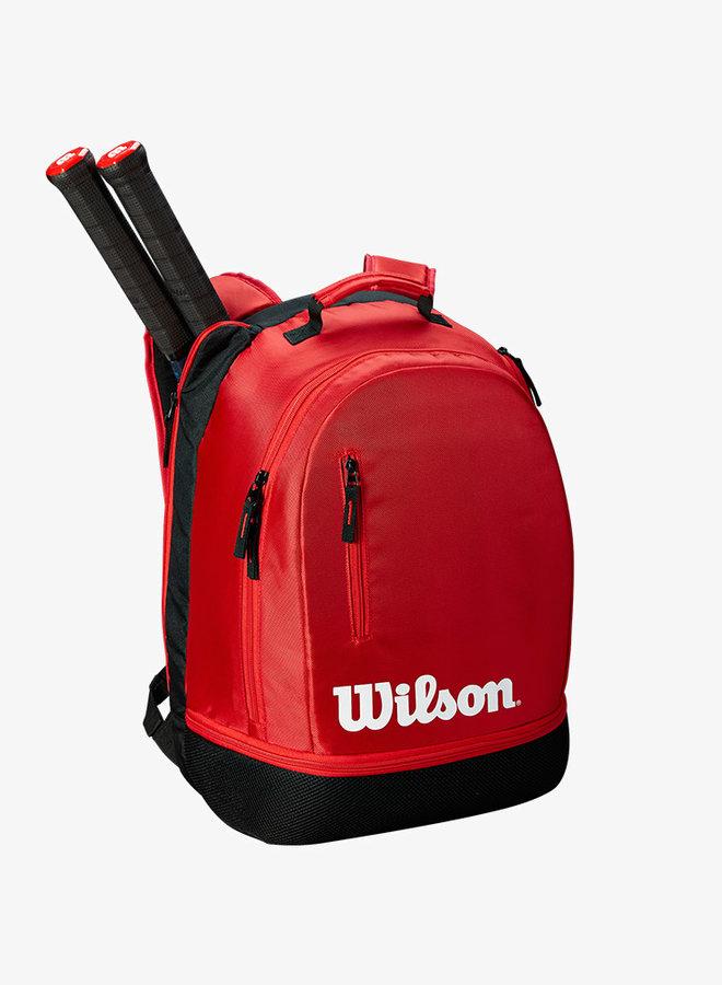 Wilson Team Rucksack - Rot / Schwarz