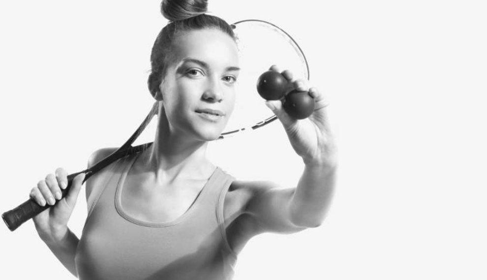 Squash der beste Sport, um gesund zu bleiben