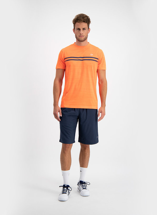 Dunlop Performance Mens Crew Tee - Orange