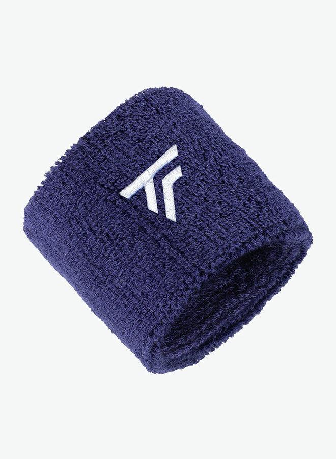 Tecnifibre Schweißband - 2er Pack - Dunkelblau