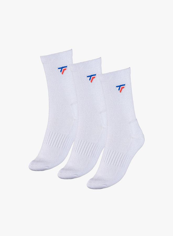 Tecnifibre Herren Socken - 3er Pack - Weiß