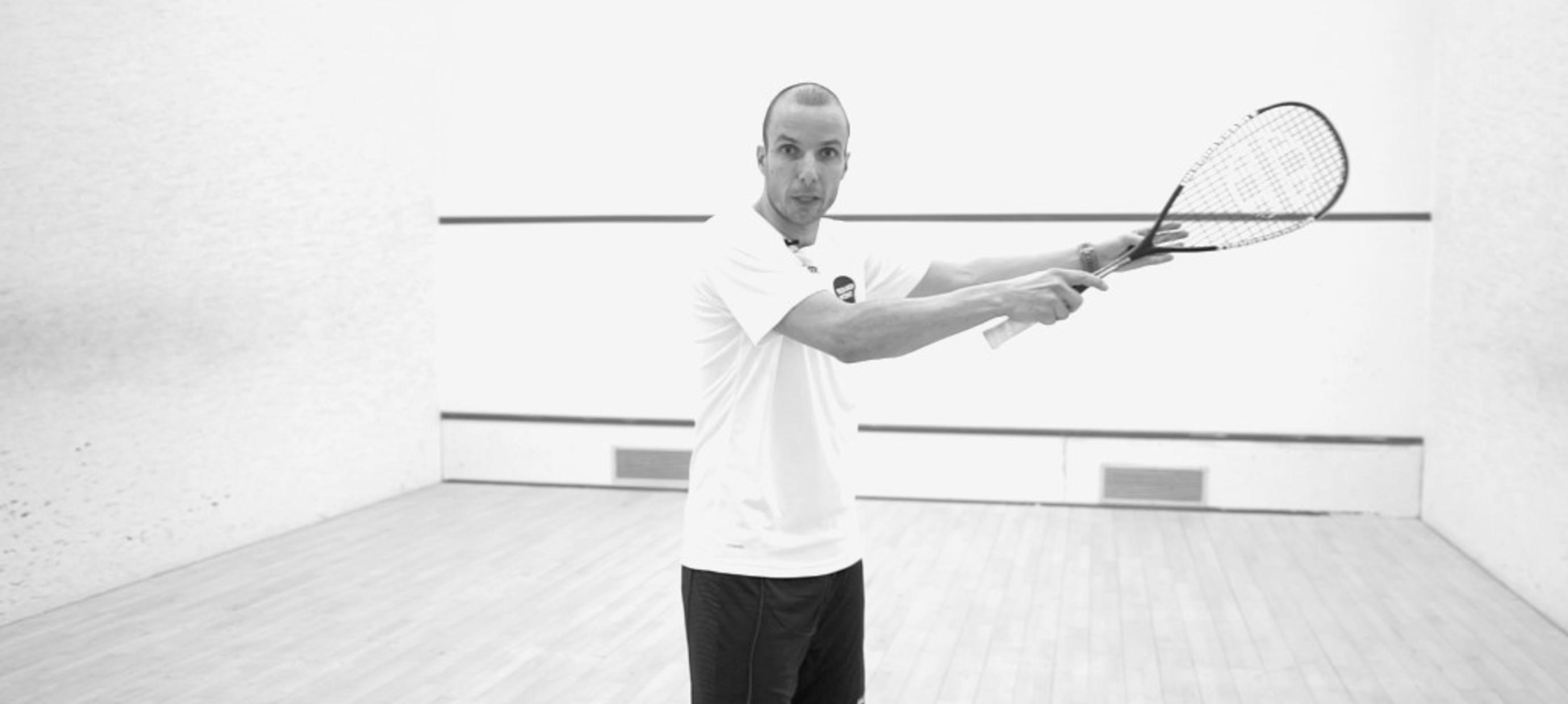 Squash-Tipps: So verbesserst Du deinen Boast Shot