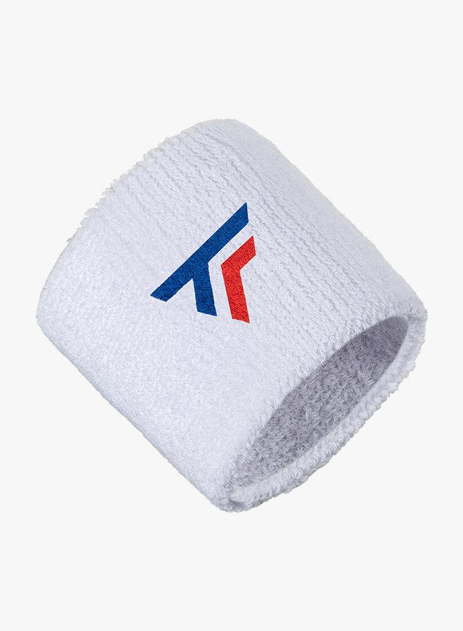 Tecnifibre Schweißband - 2er Pack - Weiß