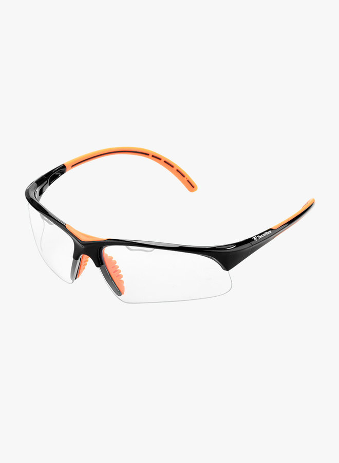 Tecnifibre Squashbrille - Schwarz / Orange