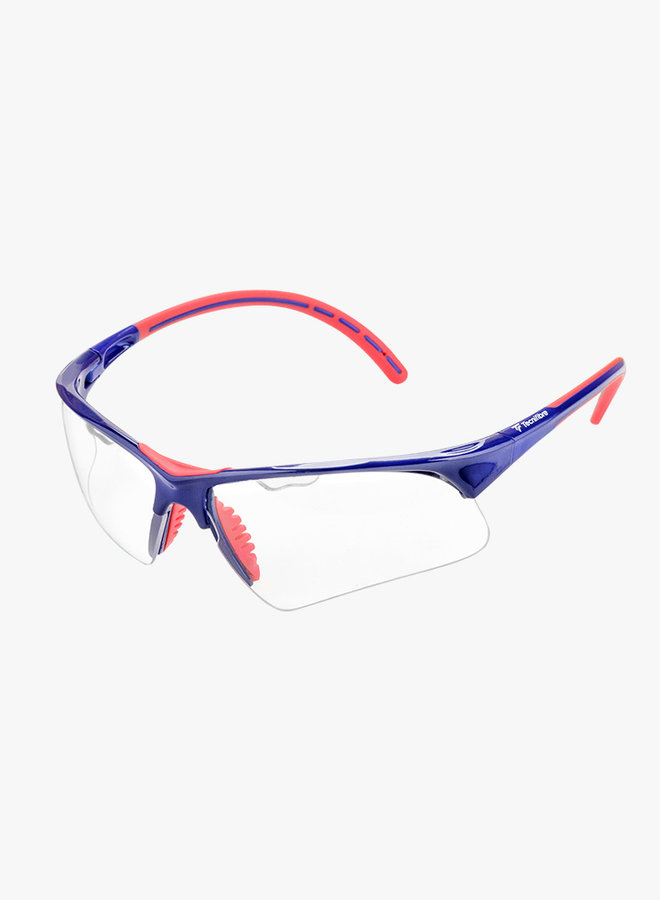 Tecnifibre Squashbrille - Blau / Rot