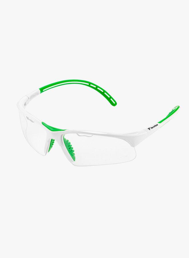 Tecnifibre Squashbrille - Weiß / Grün