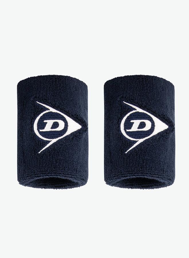 Dunlop Schweißband - 2er Pack - Dunkelblau