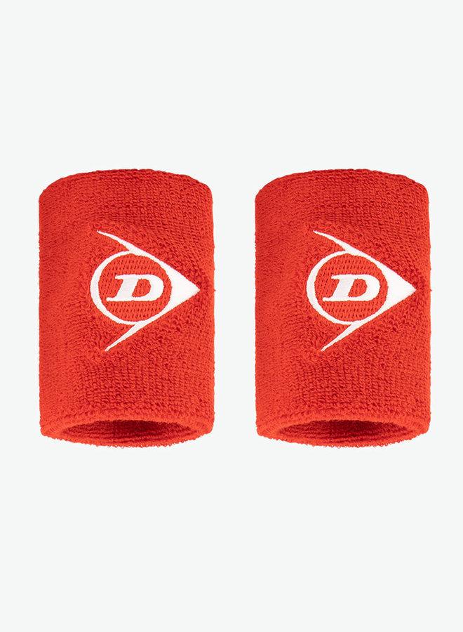 Dunlop Schweißband - 2er Pack - Rot