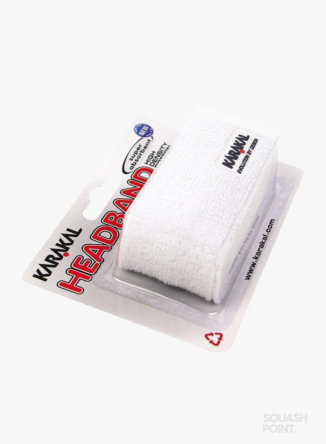 Karakal Stirnband -Weiß