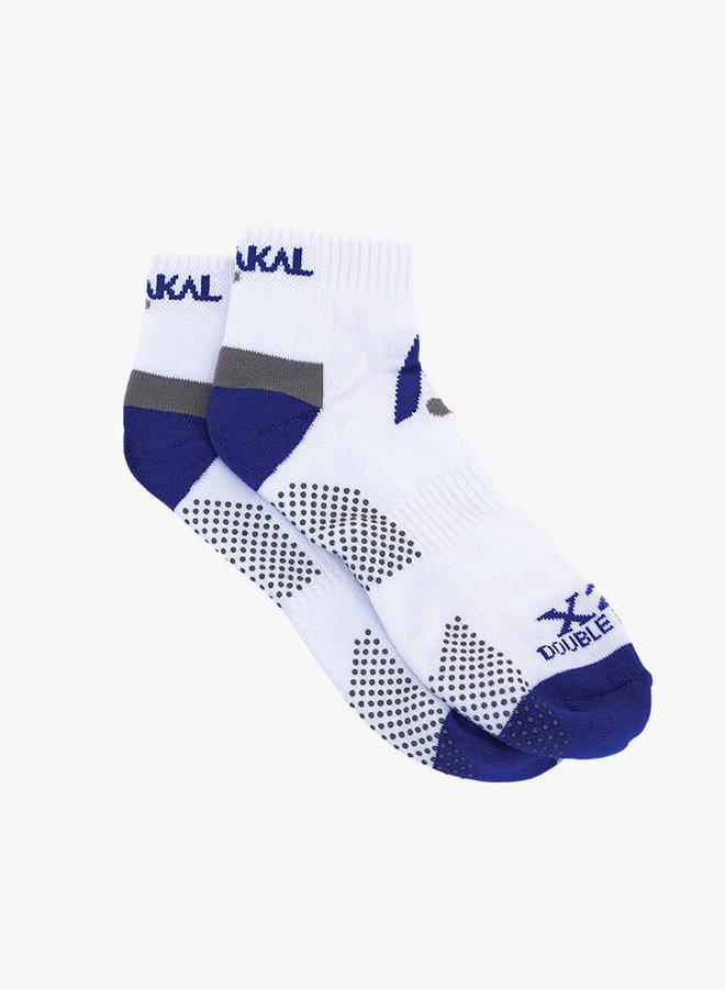 Karakal X2-Technical Sneaker Herrensocken - Weiß /Blau