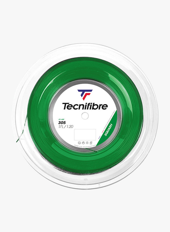 Tecnifibre 305 Squash 1,20 Grün - Saitenrolle 200 m