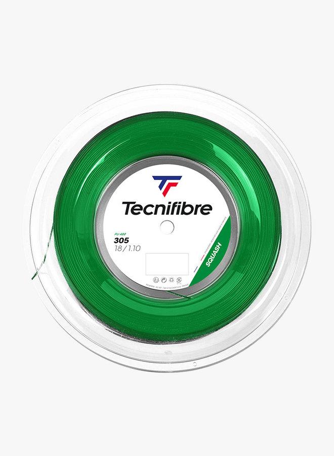 Tecnifibre 305 Squash 1,10 Grün - Saitenrolle 200 m