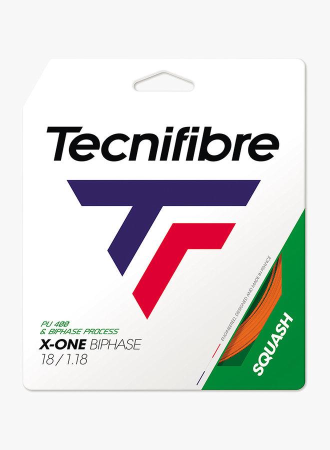 Tecnifibre X-One Biphase 1.18 Orange - Saitenset 9,7 m