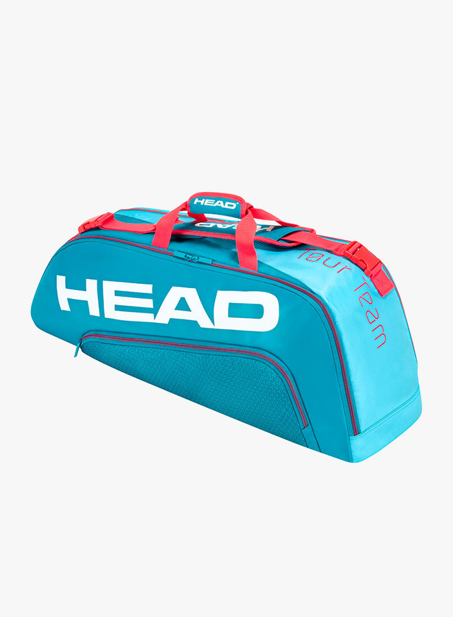 Head Tour Team 6R Combi Schlägertasche - Blau / Pink