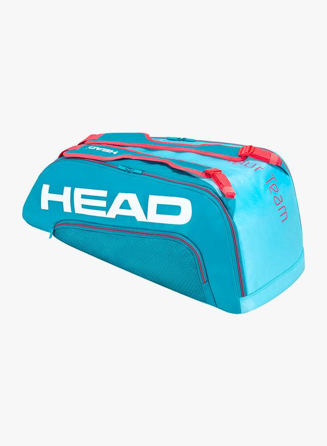 Head Tour Team 9R Supercombi  Schlägertasche - Blau / Pink
