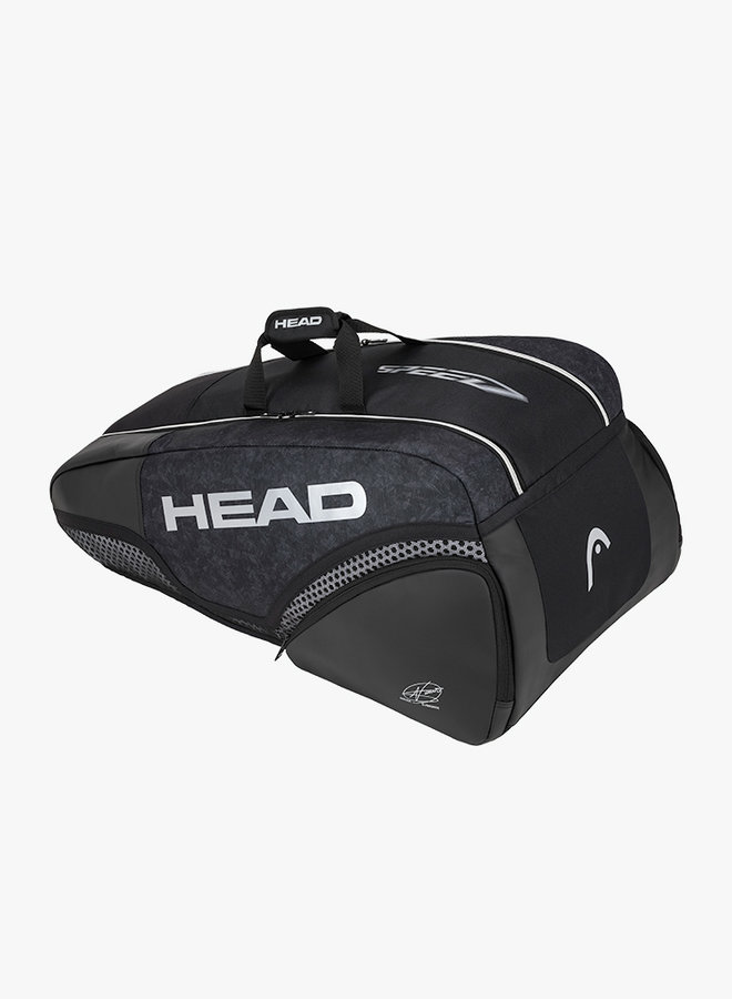 Head Djokovic 9R Supercombi Schlägertasche