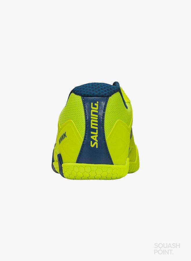 Salming Hawk 2 - Lime / Dunkelblau