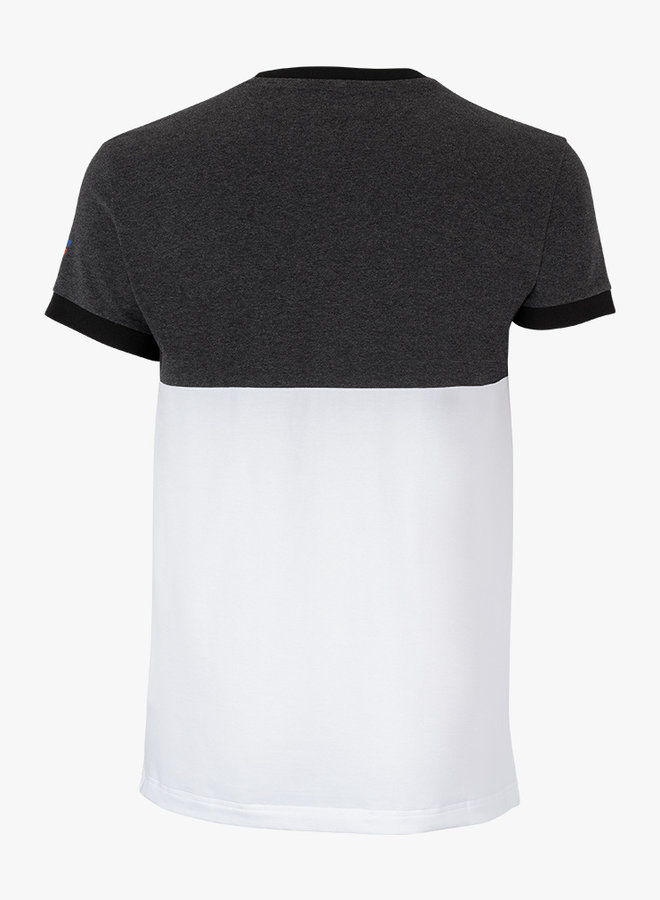 Tecnifibre F1 Stretch Shirt -  Black Heather / Weiß