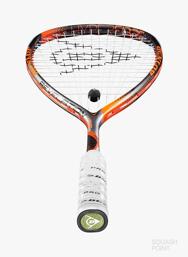 Dunlop Hyperfibre+ Revelation 135 Squashschläger