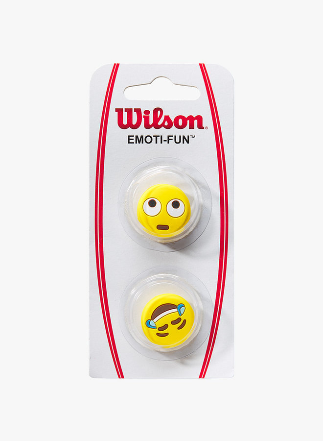 Wilson Emoti-Fun Eye Roll / Crying Laughing Dämpfer - 2er Pack