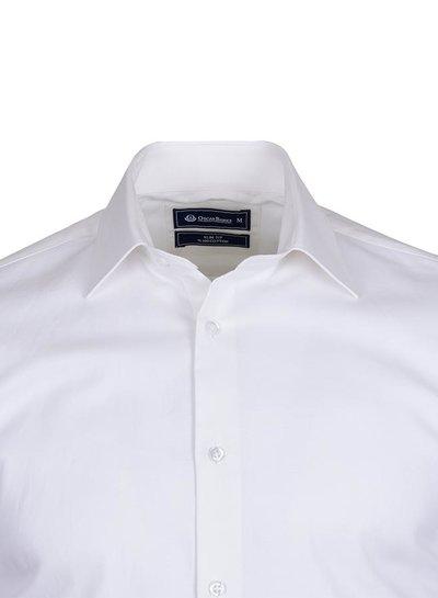 Long Sleeved Cotton Dress Shirt SL 5016 WHITE S