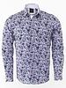 Oscar Banks Floral Printed Long Sleeved Shirt SL 6212 COLOR A L