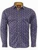 Makrom Butterfly Printed Long Sleeved ShirtSL 6476 PURPLE 1 M