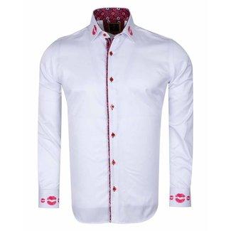 SL 6505  MAKROM  Mens Shirt WHITE 4XL
