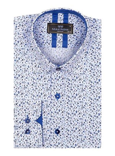 Makrom London SL 6811 ROYAL BLUE