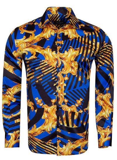 Oscar Banks Oscar Banks Satin SL  6935 BLUE