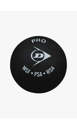 Dunlop Pro Squash Ball (double yellow dot)